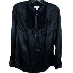 Isaac Mizrahi for target button front top shirt